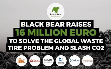 Bandenrecycler Black Bear haalt nog eens 5 miljoen euro op