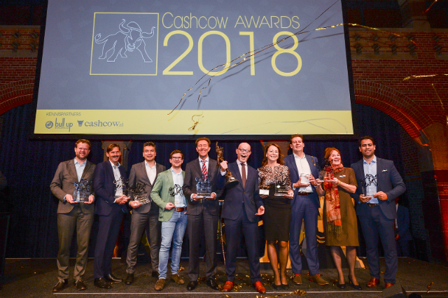 ASN Bank en NN IP winnaar Cash Cow Awards 2018