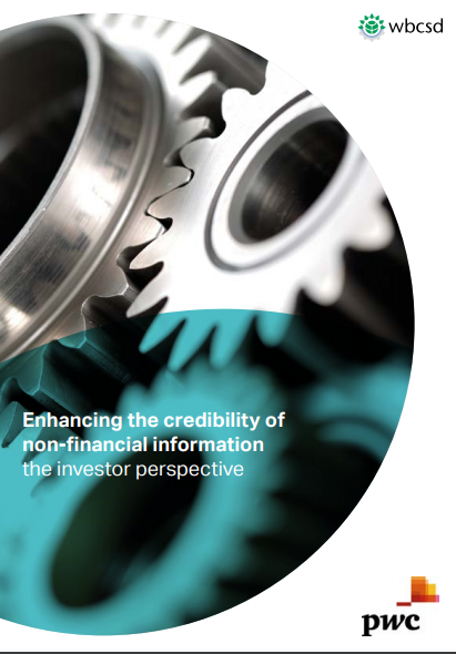 """New insights into """"what investors want"""" with respect to non-financial information shows a need for enhancing credibility"""