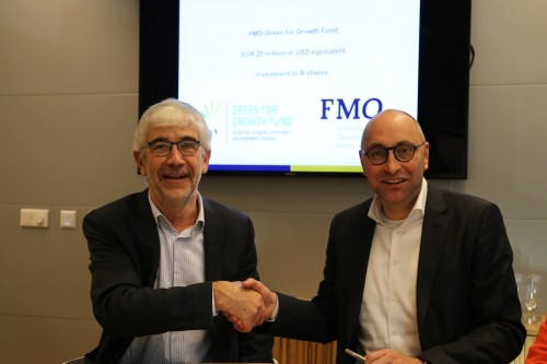FMO invests further EUR 20 million in Green for Growth Fund (GGF)