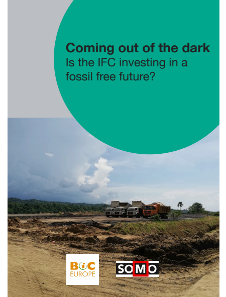 Is the International Finance Corporation investing in a fossil free future?