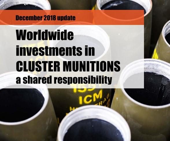 10 jaar verdrag tegen clustermunitie, minder geld naar clusterbommenmakers