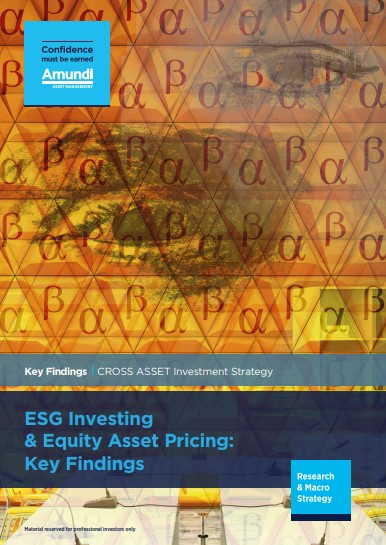 When an ESG alpha strategy is massively implemented, it becomes a beta strategy.