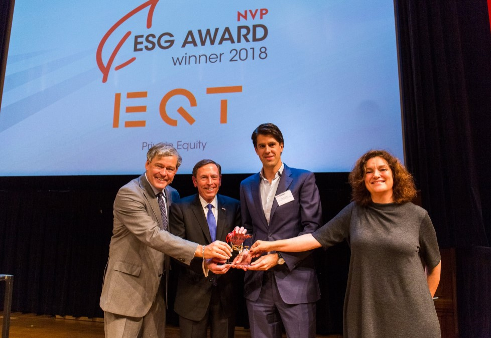 EQT en Set Ventures winnaars van NVP ESG Awards 2018