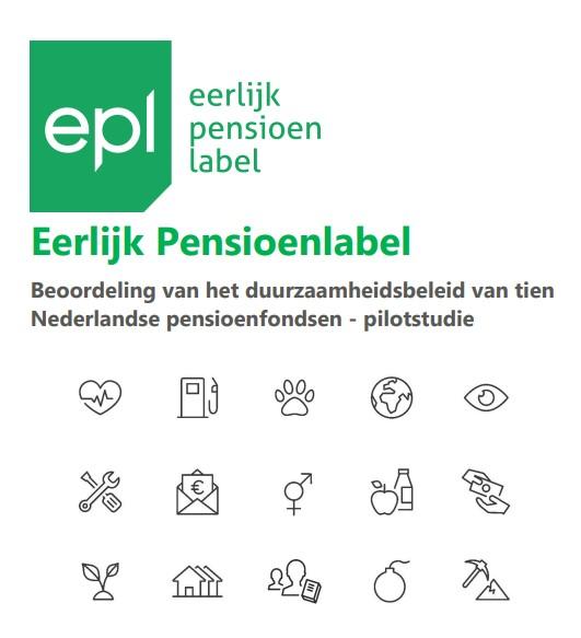 Eerste rapportage Eerlijk Pensioenlabel gepubliceerd