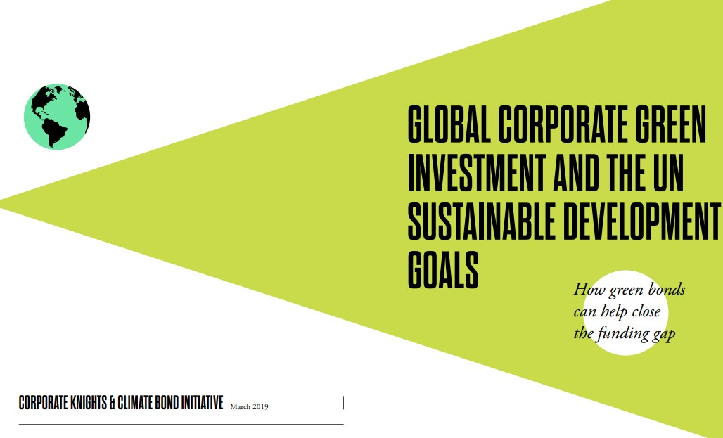 Global corporate green investment and the UN sustainable development goals