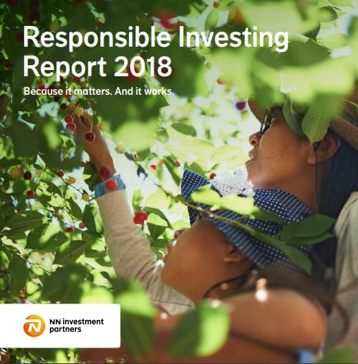 NN Investment Partners publiceert Verantwoord beleggen jaarverslag 2018