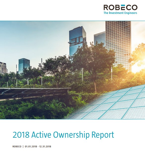Robeco publishes Active Ownership Report 2018