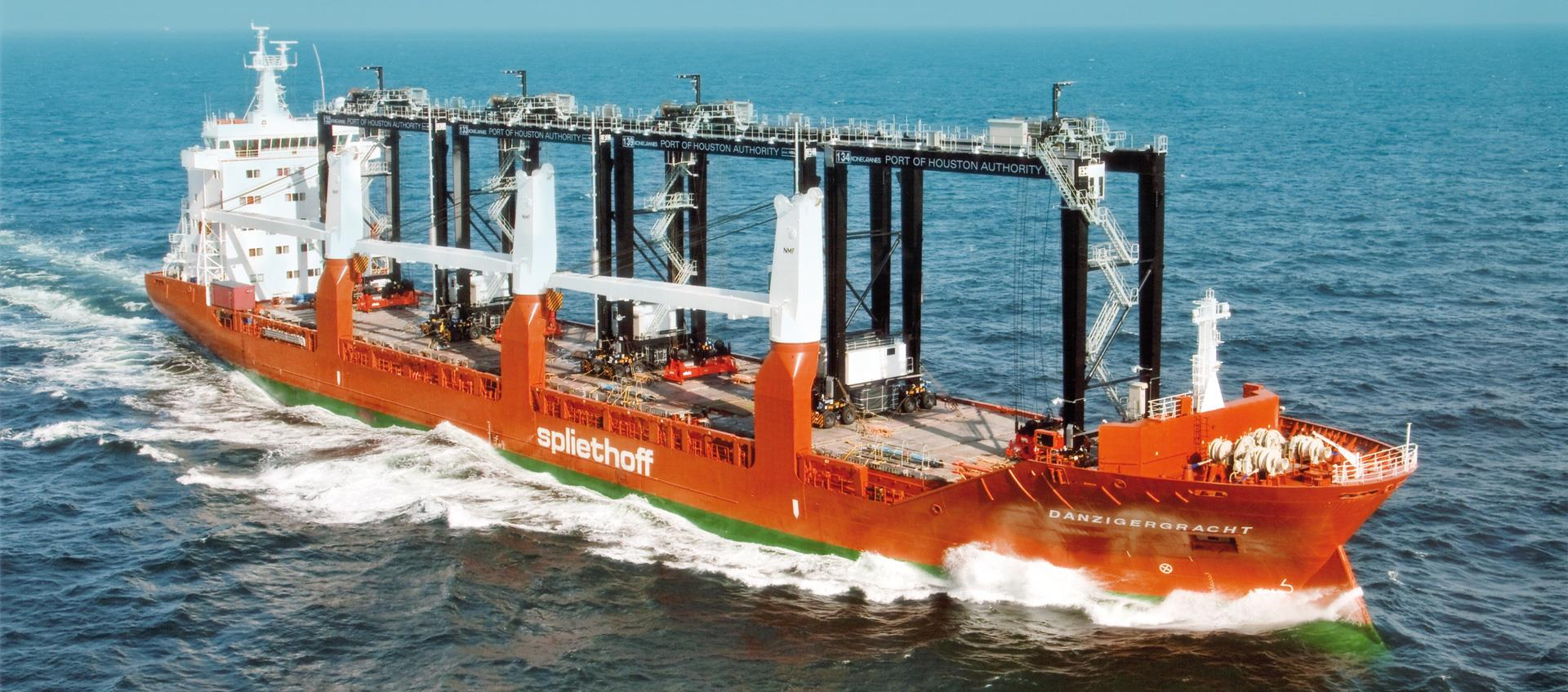 ING en EIB verstrekken 110 miljoen EUR voor investeringen in groene scheepvaart van Spliethoff