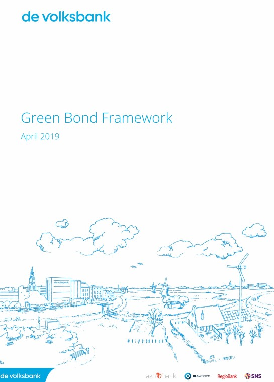 De Volksbank published it's Green Bond Framework