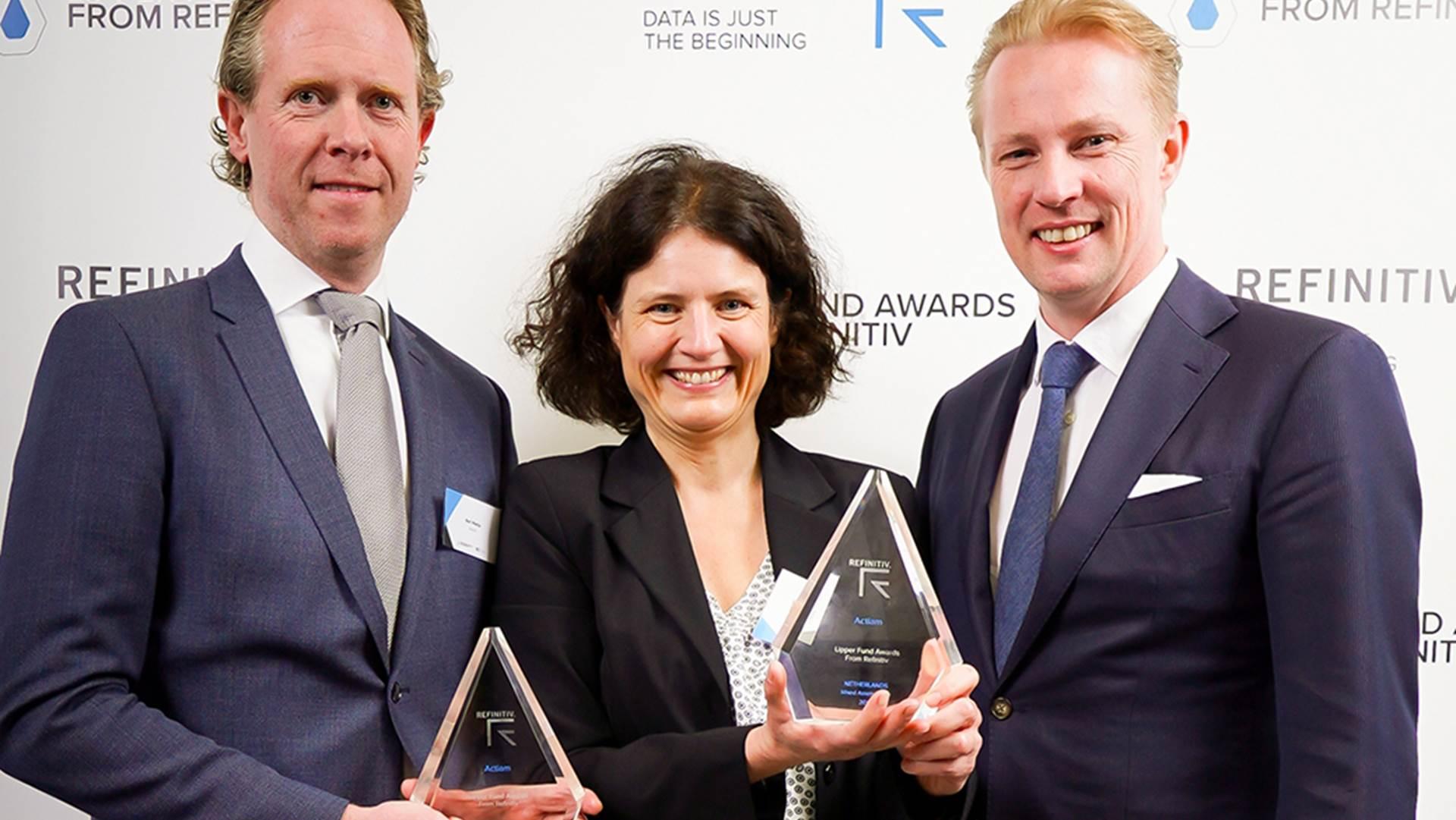 Drie Lipper Awards voor ACTIAM