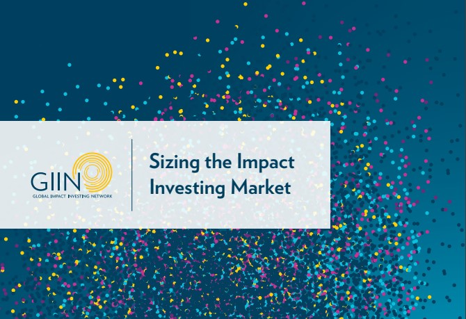 Global Impact Investing Network finds the current size of impact investing market to be $502 billion
