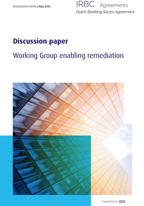 Dutch Banking Sector Agreement publishes a paper on enabling remediation