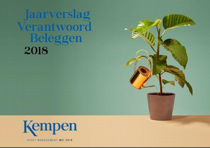 Kempen publiceert Jaarverslag Verantwoord Beleggen 2018