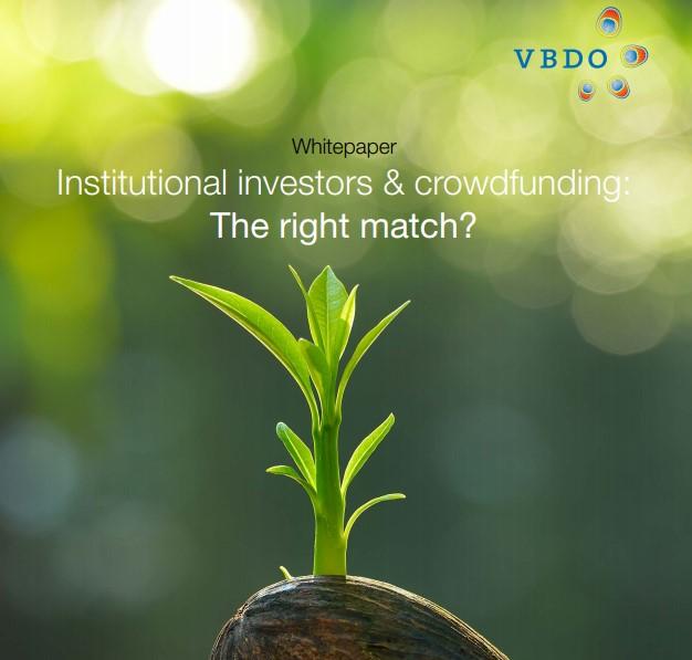 Crowdfunding en institutionele beleggers: kansen worden niet benut