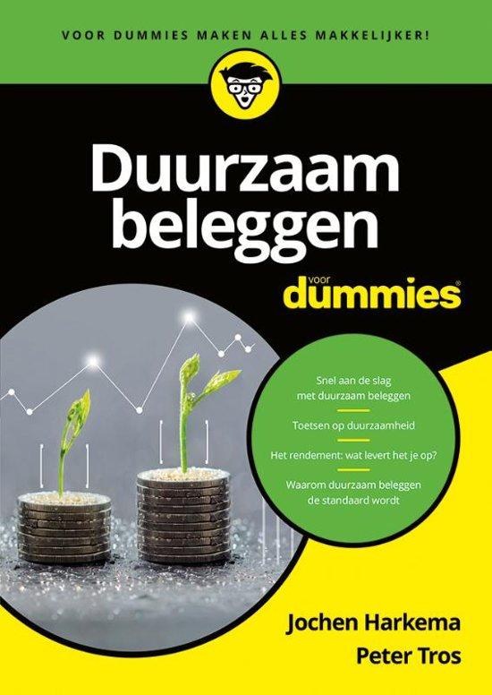 Nieuw boek: 'Duurzaam beleggen voor Dummies'