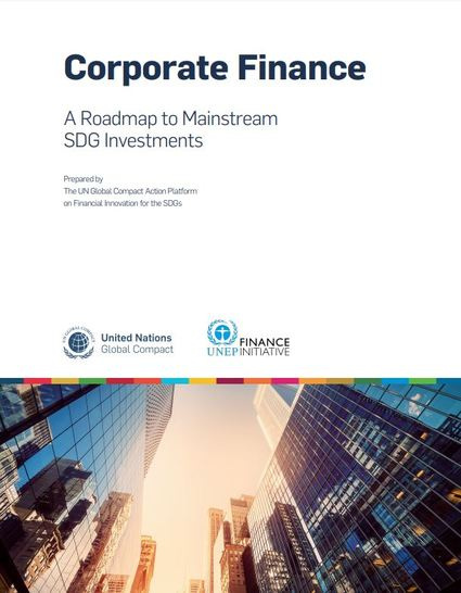 New UN Report about Corporate Finance and SDG Investments