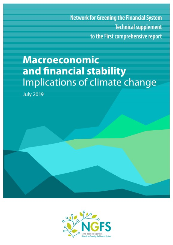 The NGFS publishes an overview of climate-related impact assessments on financial stability and announces new members and observers