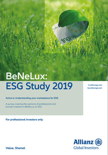 Allianz Global Investors published results of a survey covering the opinions of professional and private investors in BeNeLux on ESG