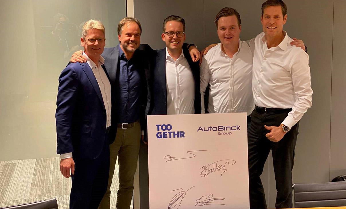 AutoBinck investeert in Toogethr