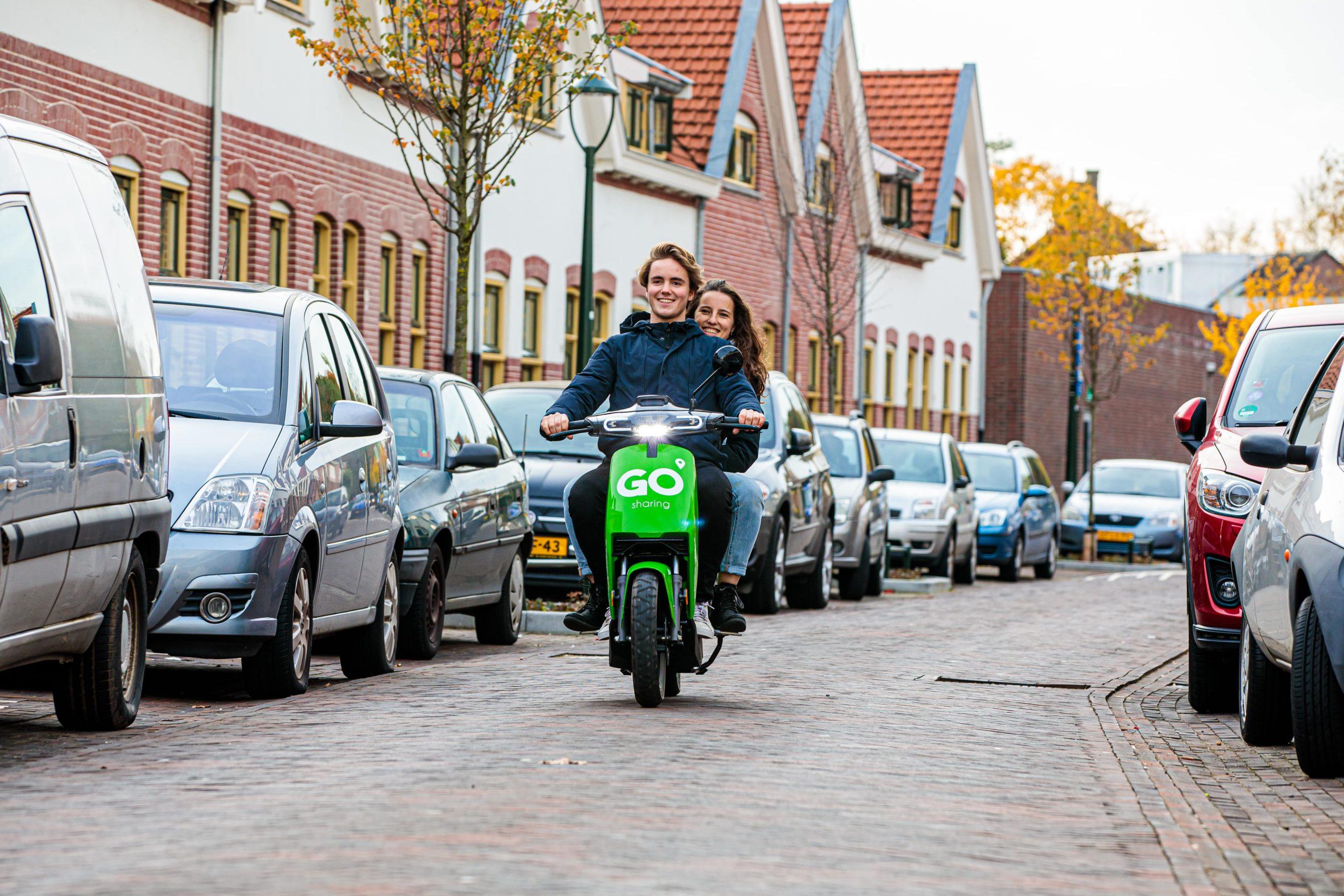 10 miljoen euro voor e-scooter deelsysteem GO Sharing!