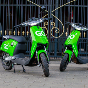 Rabo Corporate Investments stapt in e-scooter deelsysteem GO Sharing