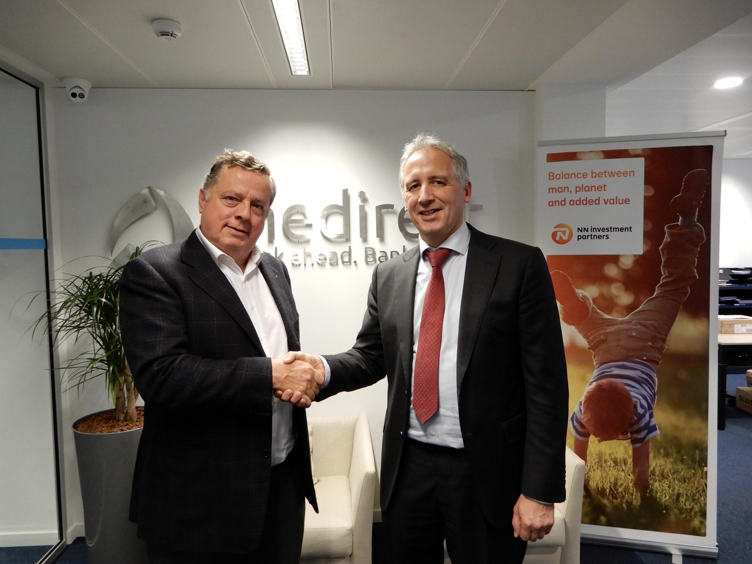 MeDirect lanceert beleggingsplan 'Duurzaam MeGreen' met steun van NN IP