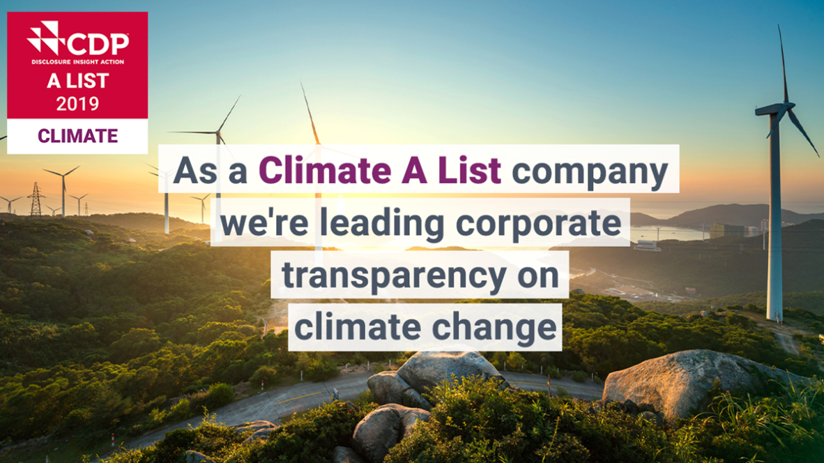 ING is again a climate action leader, says CDP