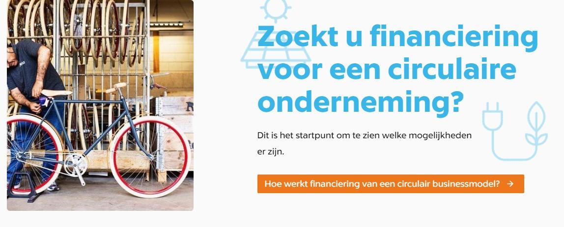 Tool toont 100 financiële regelingen voor circulaire ondernemers