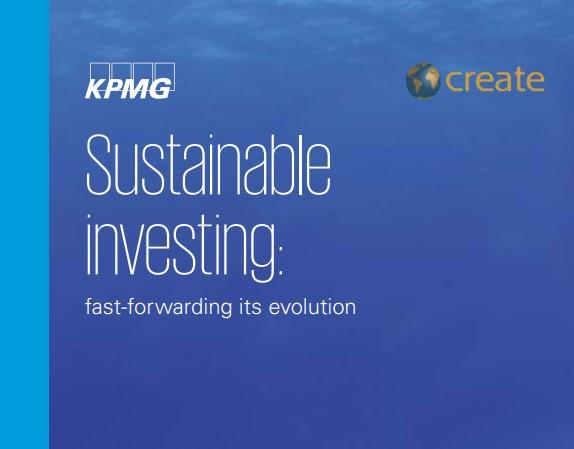 """KPMG: """"Institutionele beleggers zetten duurzaamheid steeds hoger op de agenda"""""""