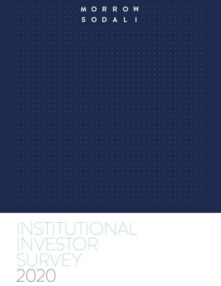 Institutionele beleggers benadrukken het groeiende belang van ESG bij beslissingen over investeringen en stemmen bij volmacht in een nieuwe Morod Sodali-enquête
