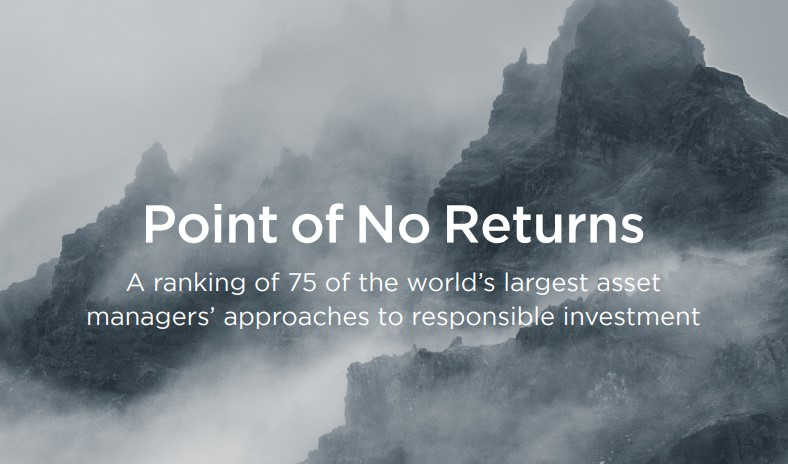Asset managers worth $36 trillion show disregard for harmful impacts of their investments
