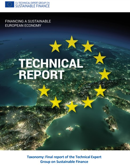 Technical Expert Group on Sustainable Finance Publishes Final Report on EU Taxonomy