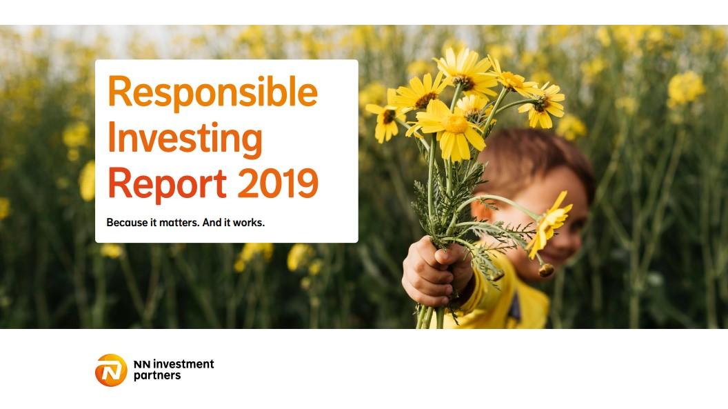 NN IP publiceert 'Verantwoord Beleggen Rapport 2019'