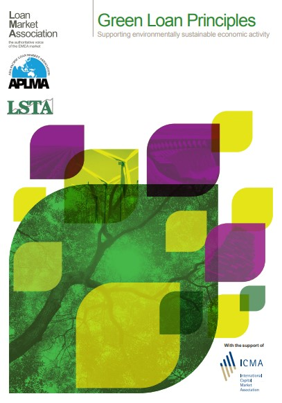 New Guidance to the Green Loan Principles and Sustainability Linked Loan Principles jointly issued by the LMA, the LSTA and the APLMA