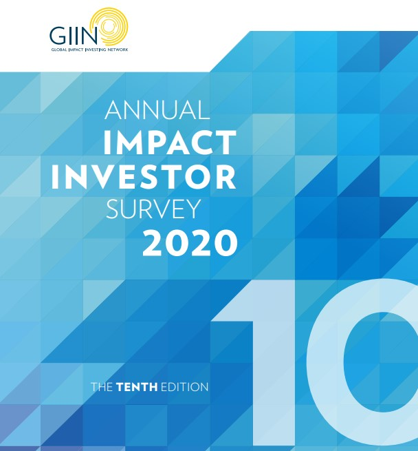 GIIN'S Annual Impact Investor Survey finds maturing market and positive outlook for future of impact investing despite headwinds
