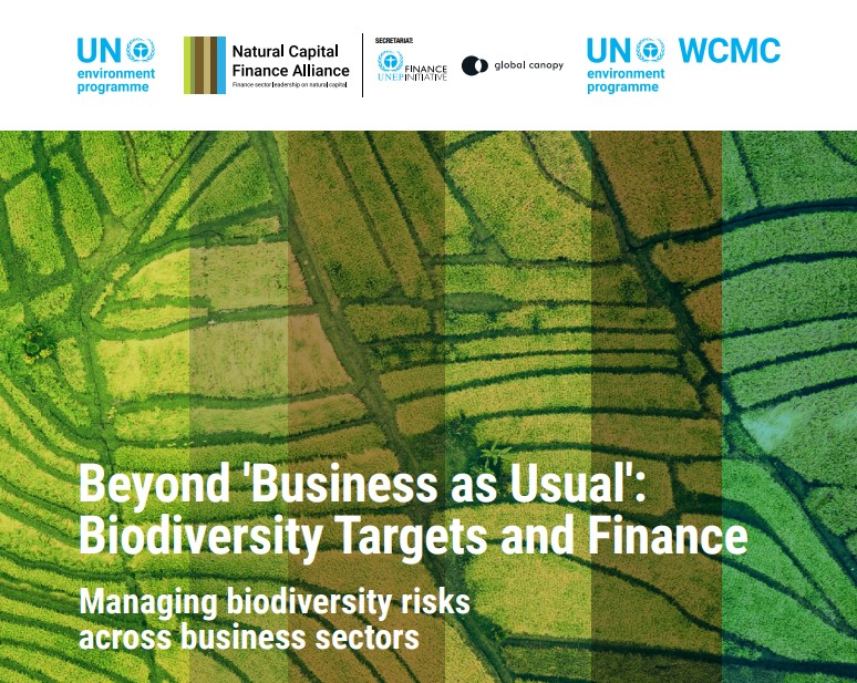 Urgency for finance sector to set biodiversity targets