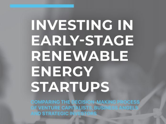 Onderzoek naar hoe de investeringskloof voor duurzame energie innovaties kan worden verkleind