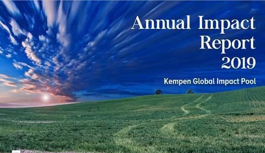 Kempen presents the Global Impact Pool's (GIP) 2020 Impact Report