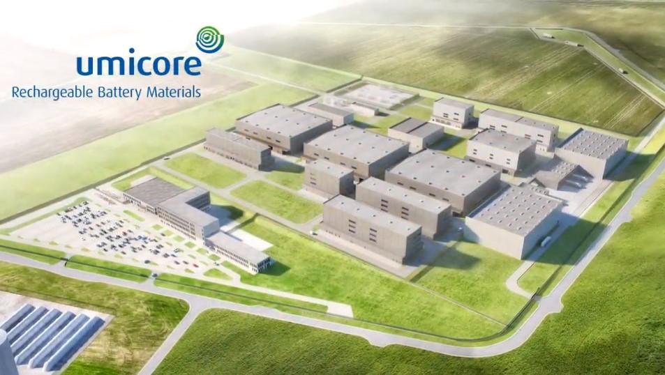 EIB verstrekt lening van € 125 miljoen voor Umicore's Europese activiteiten in materialen voor herlaadbare batterijen