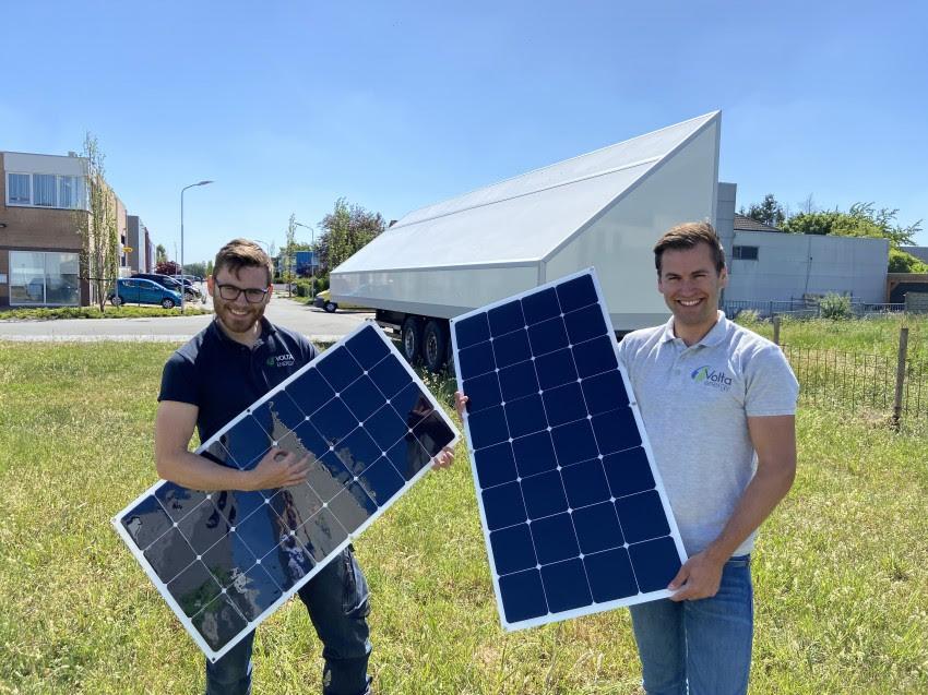 Gelderse startup Volta Energy krijgt kapitaalinjectie van half miljoen euro voor ontwikkeling duurzame mobiele energievoorziening