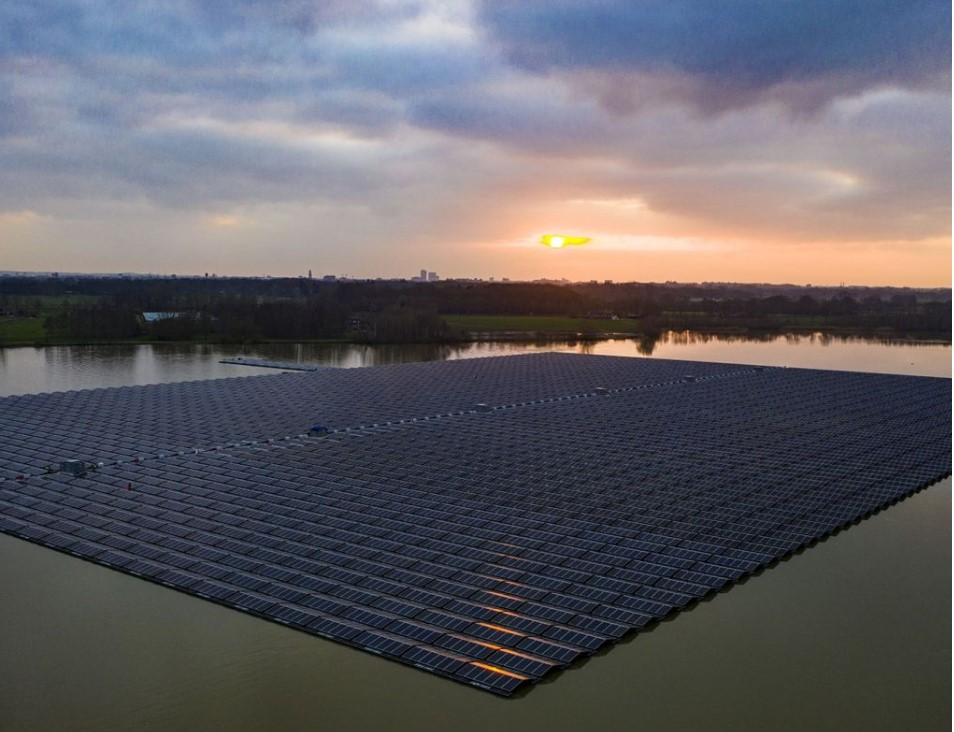ASN Groenprojectenfonds financiert grootste drijvende zonnepark van Europa
