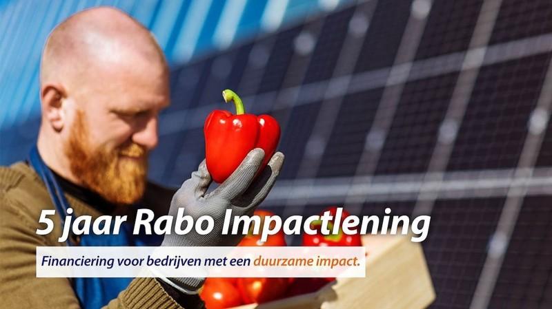 5 jaar Rabo Impactlening: financiering voor duurzame koplopers