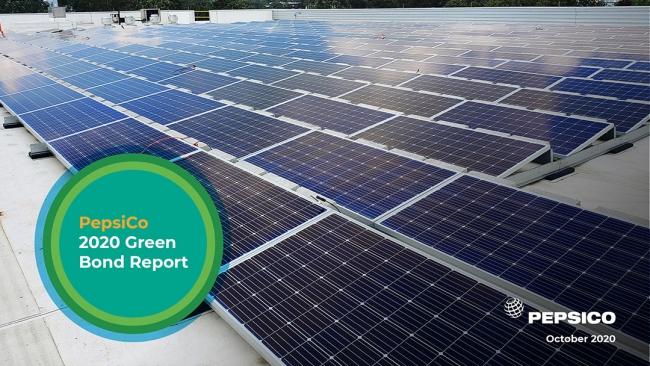 PepsiCo released its 2020 Green Bond Report