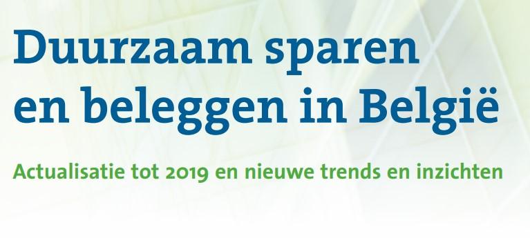 Opnieuw een recordbedrag aan duurzaam belegd vermogen in 2019 in België