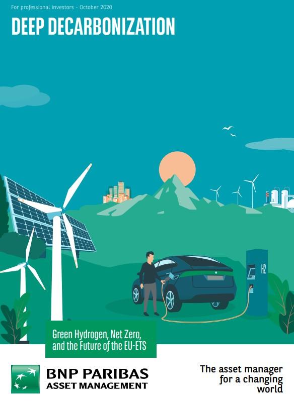 Nieuw onderzoek van BNP Paribas AM toont de  potentiële impact van groene waterstof op de koolstofprijs
