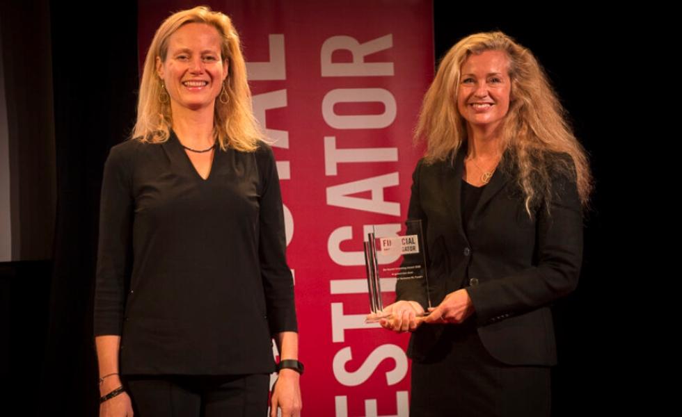 Rubio Impact Ventures wint de eerste Financial Investigator Impact Award