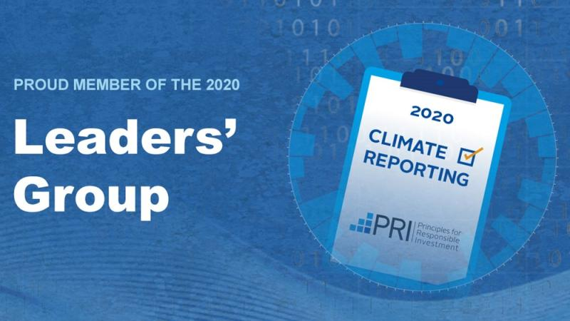ACTIAM gekwalifieerd als 'PRI World Leader klimaatrapportage'