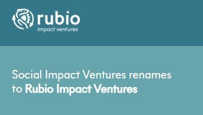 Meer impact kapitaal op de markt door Rubio Impact Ventures