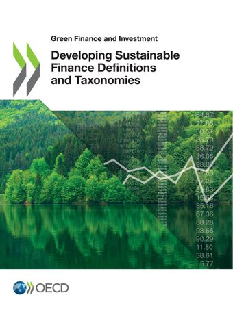 OECD publication 'Developing Sustainable Finance Definitions and Taxonomies'